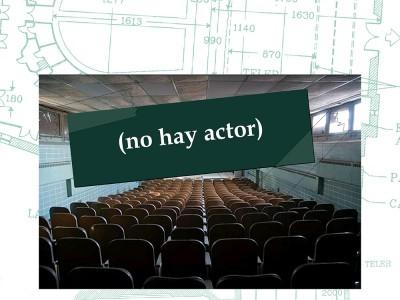 'No hay actor', el lunes en el cine Vimenor (Vioño).