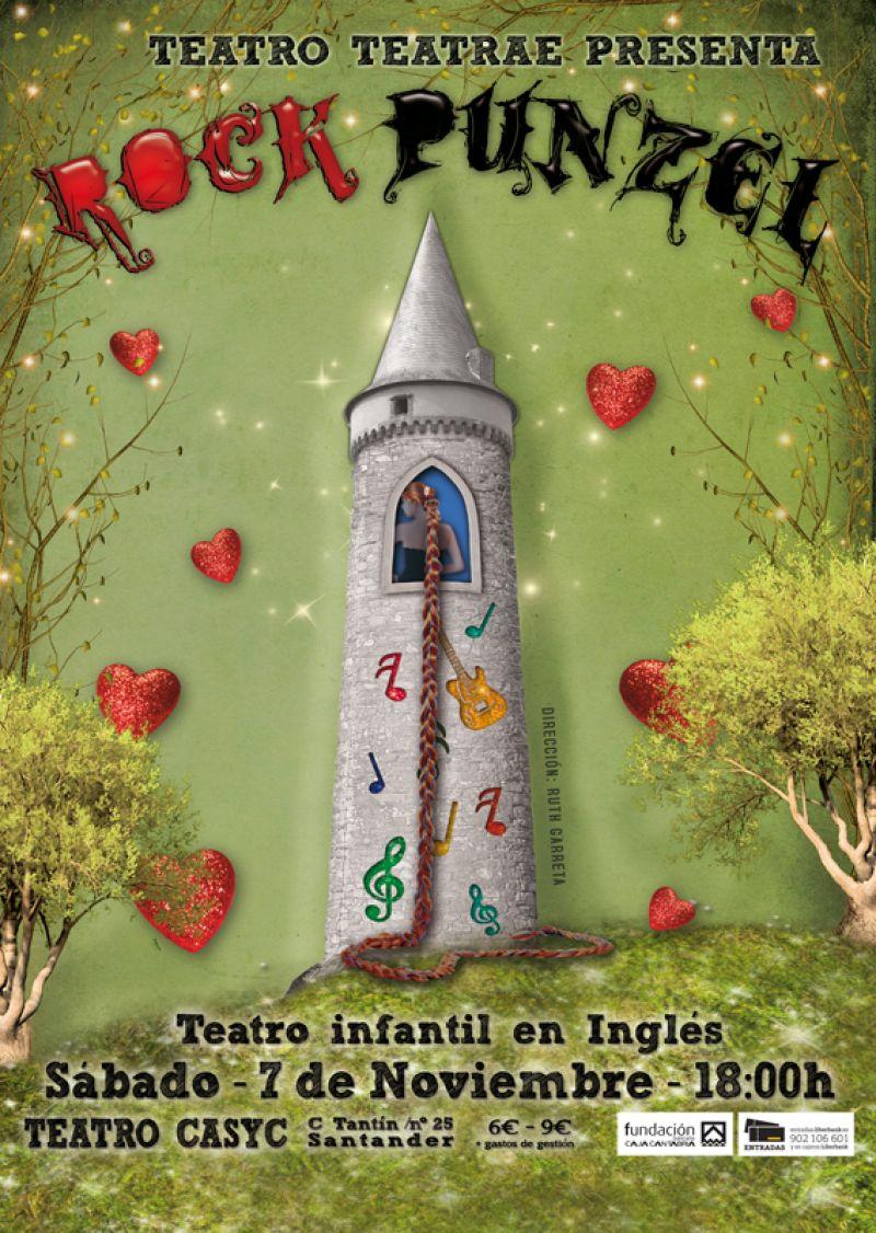 Rockpunzel, la princesa más marchosa de los cuentos infantiles.