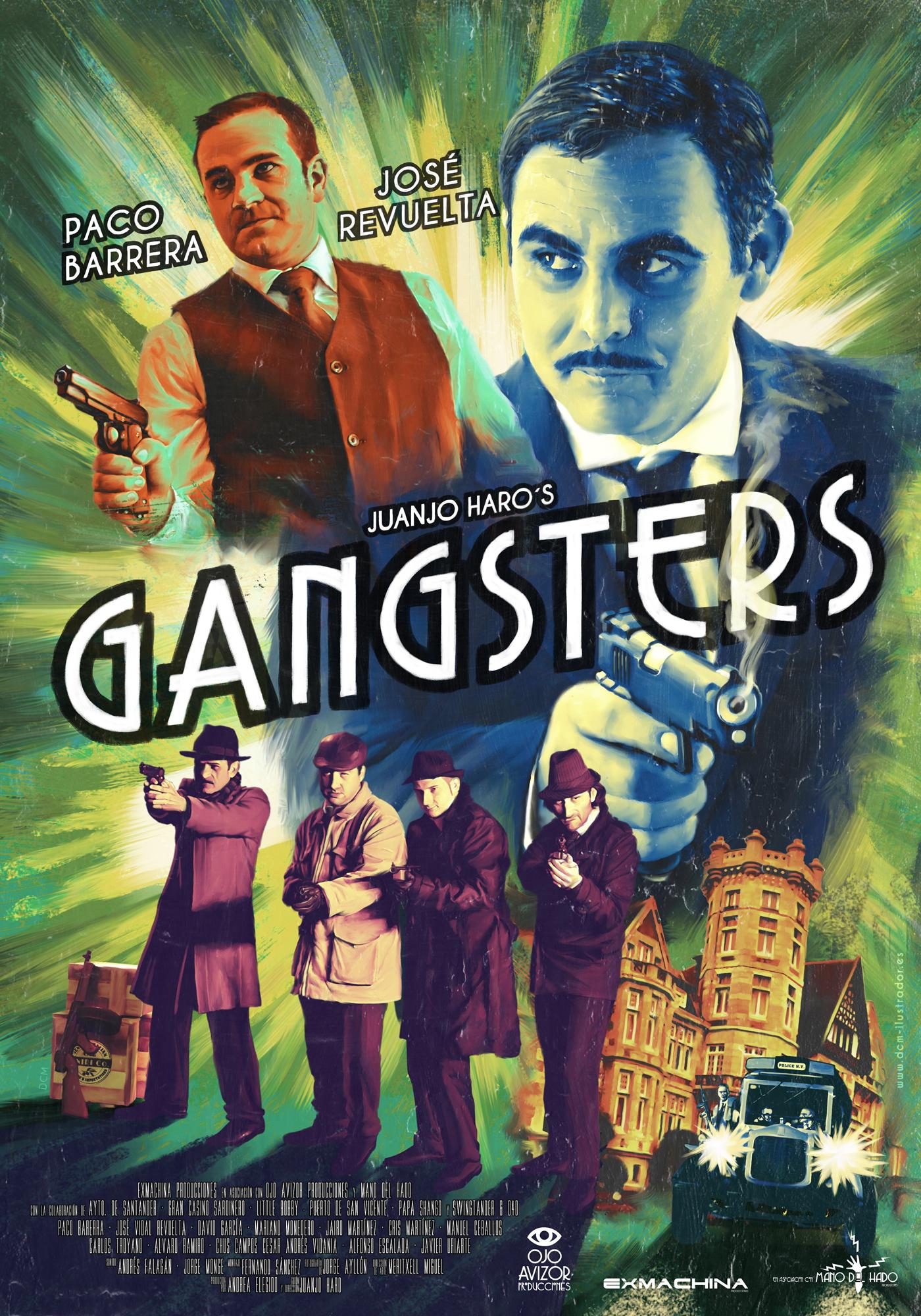 Cartel de presentación de 'Gansgetrs'.
