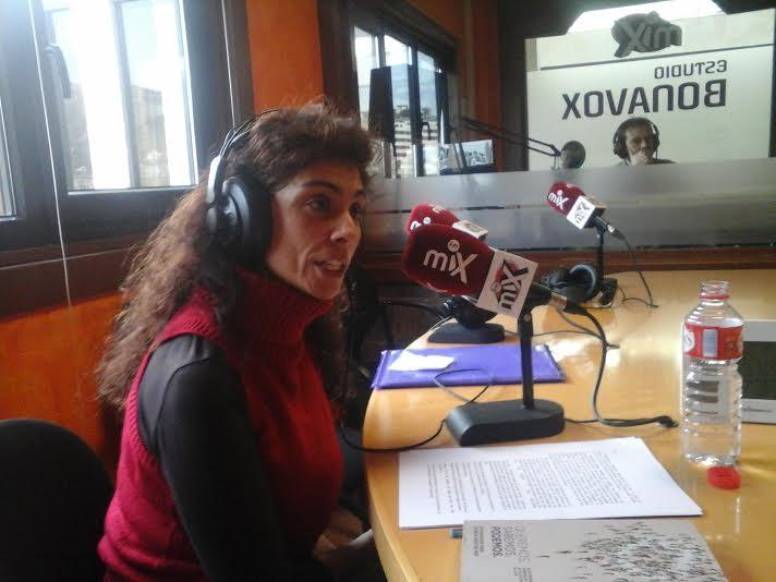 Rosana Alonso, entrevistada en Buenas Tardes Cantabria