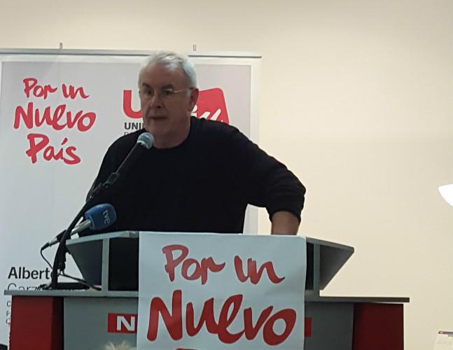Cayo Lara en Santander.