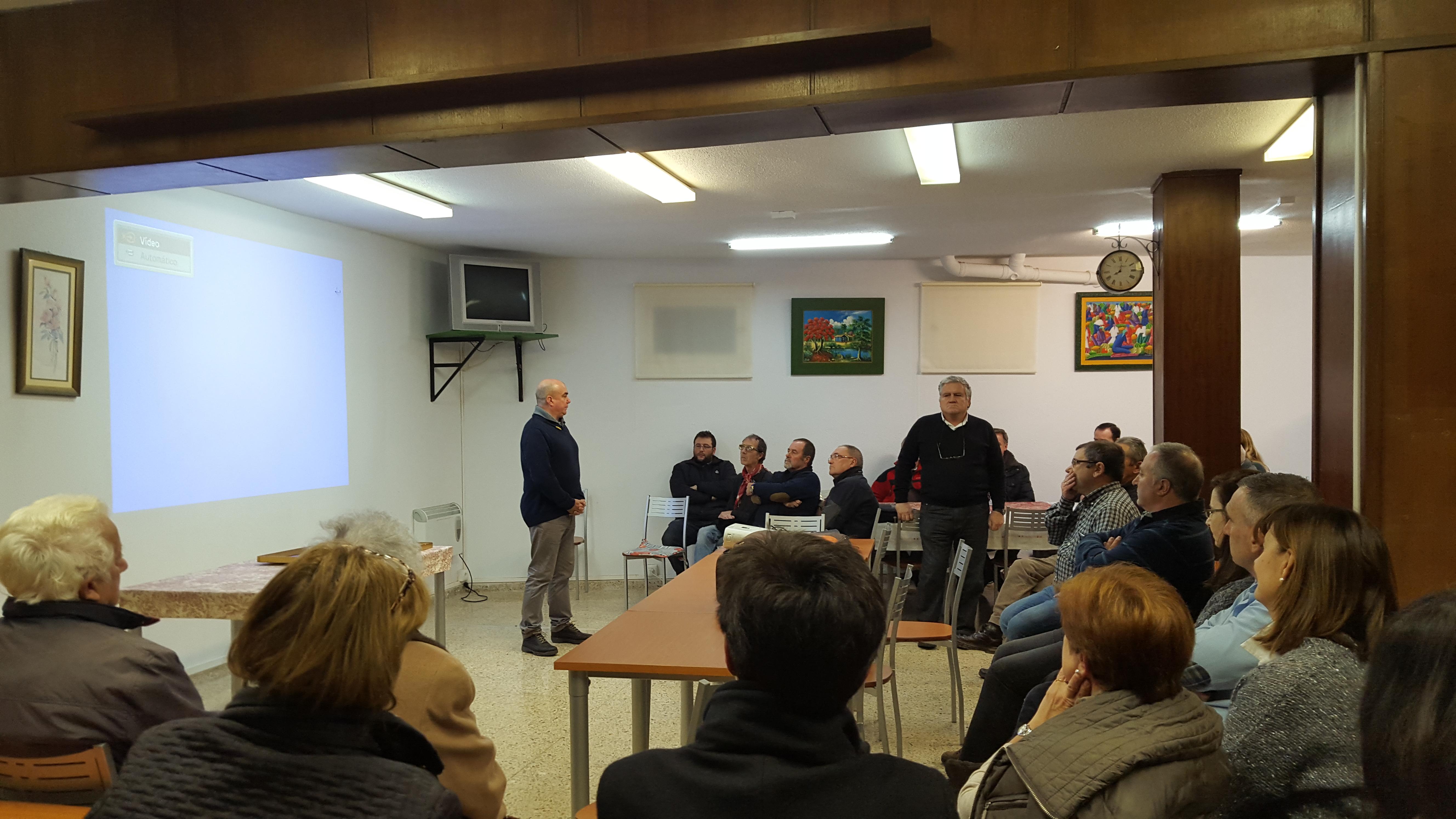 La reunión se ha llevado a cabo en el Hogar San Pablo de Cueto.