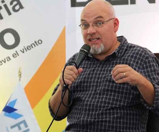 Diego José, autor de 'Un cuerpo'.