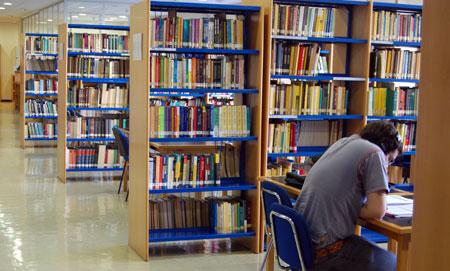 Biblioteca de la Universidad de Cantabria.