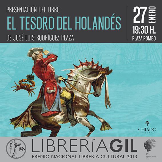 Librería Gil invita a la presentación del libro.