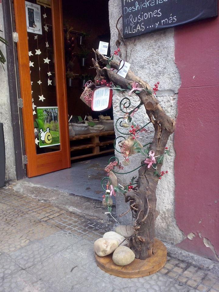 Uno de los comercios en el Barrio del Buen Vivir