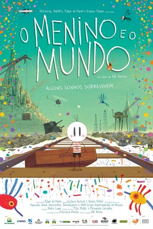 Cartel de 'El niño y el mundo'