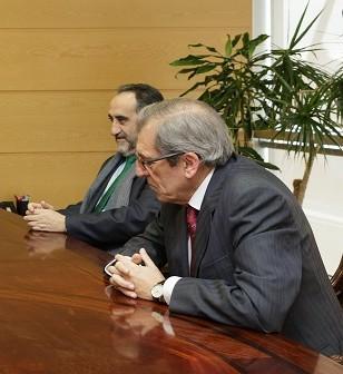Salvador Blanco y Víctor Gijón