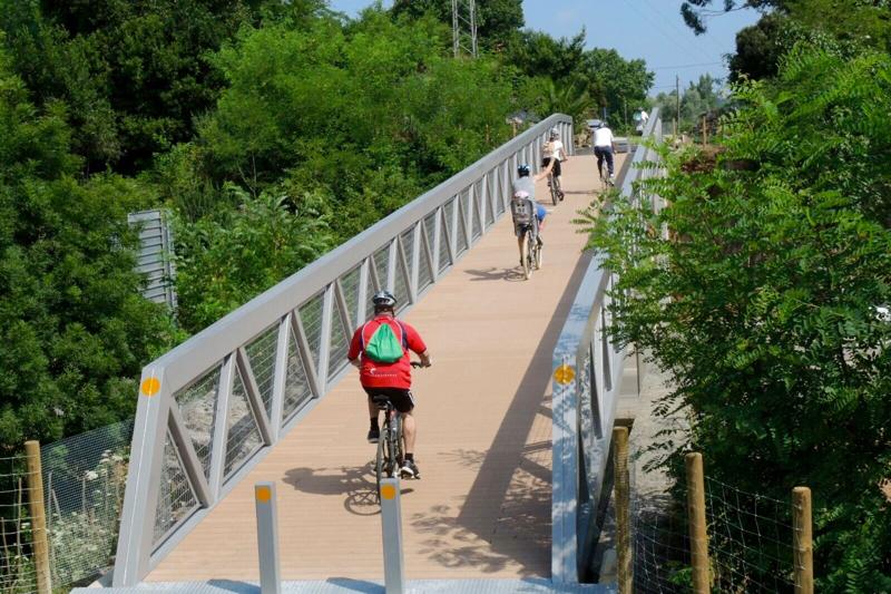 Vía apta para bicis