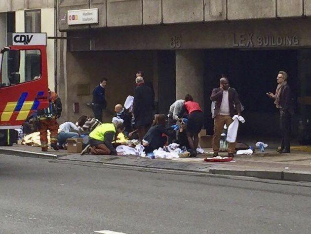 Atentados en Bruselas (Foto: Finanzas.com)