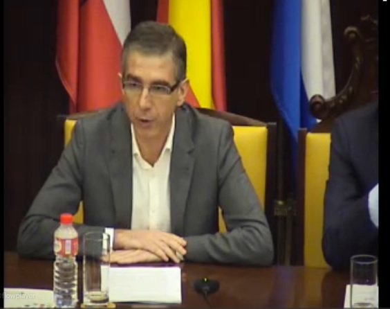 César Díaz, portavoz municipal.