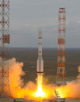 Lanzamiento de Exomars. (Foto: ESA)