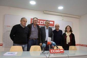 Comisiones Obreras pide una reunión de la mesa de seguimiento de la empresa