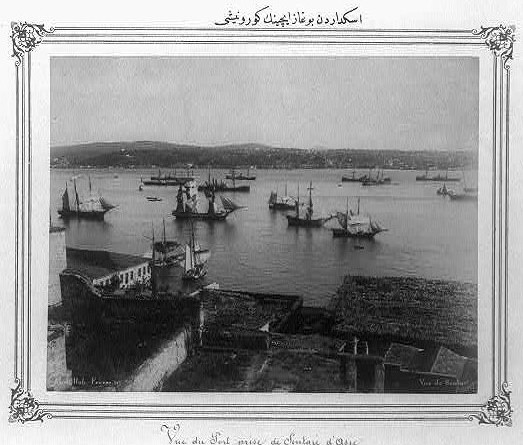 Vista del Bósforo desde Üsküdar. Library of Congress Prints and Photographs Division Washington, D.C.