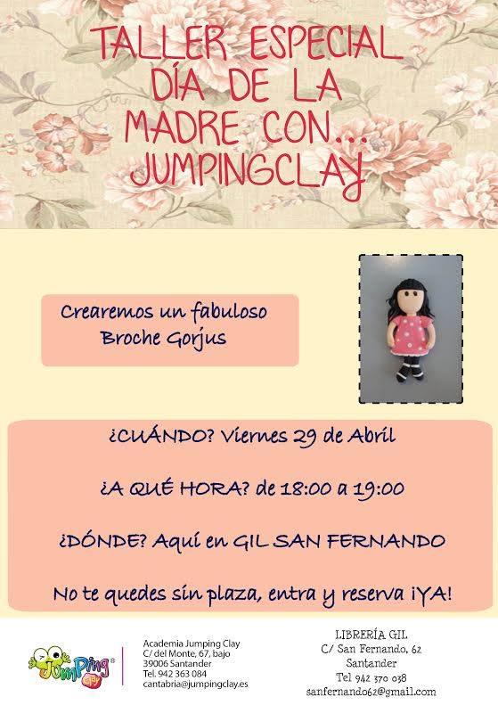 Cartel de invitación al taller especial de Librería Gil.