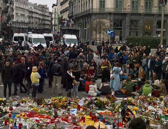 Detenciones en Bruselas (Foto: 15M Bruselas)