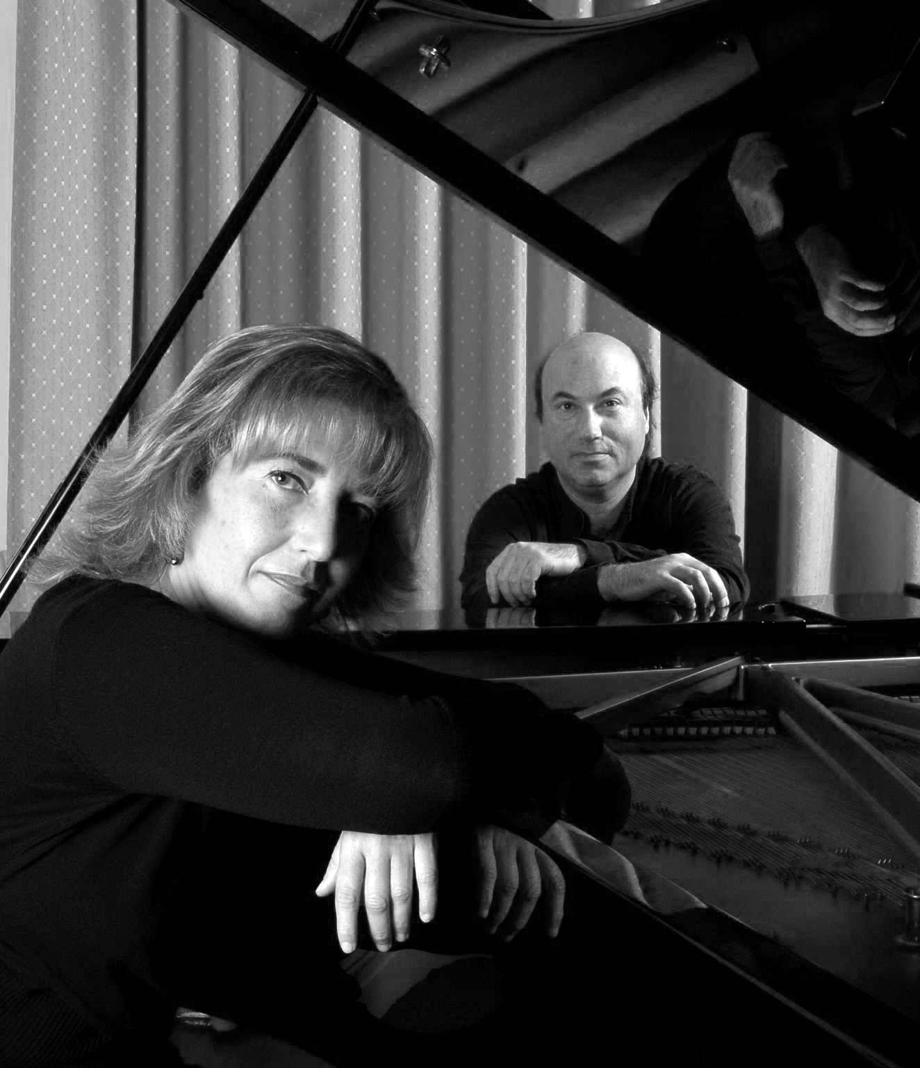 Rosa Goitia y Javier Laboreo