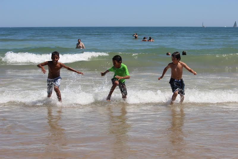 Niños participantes en programa Vacaciones en Paz (ARCHIVO)