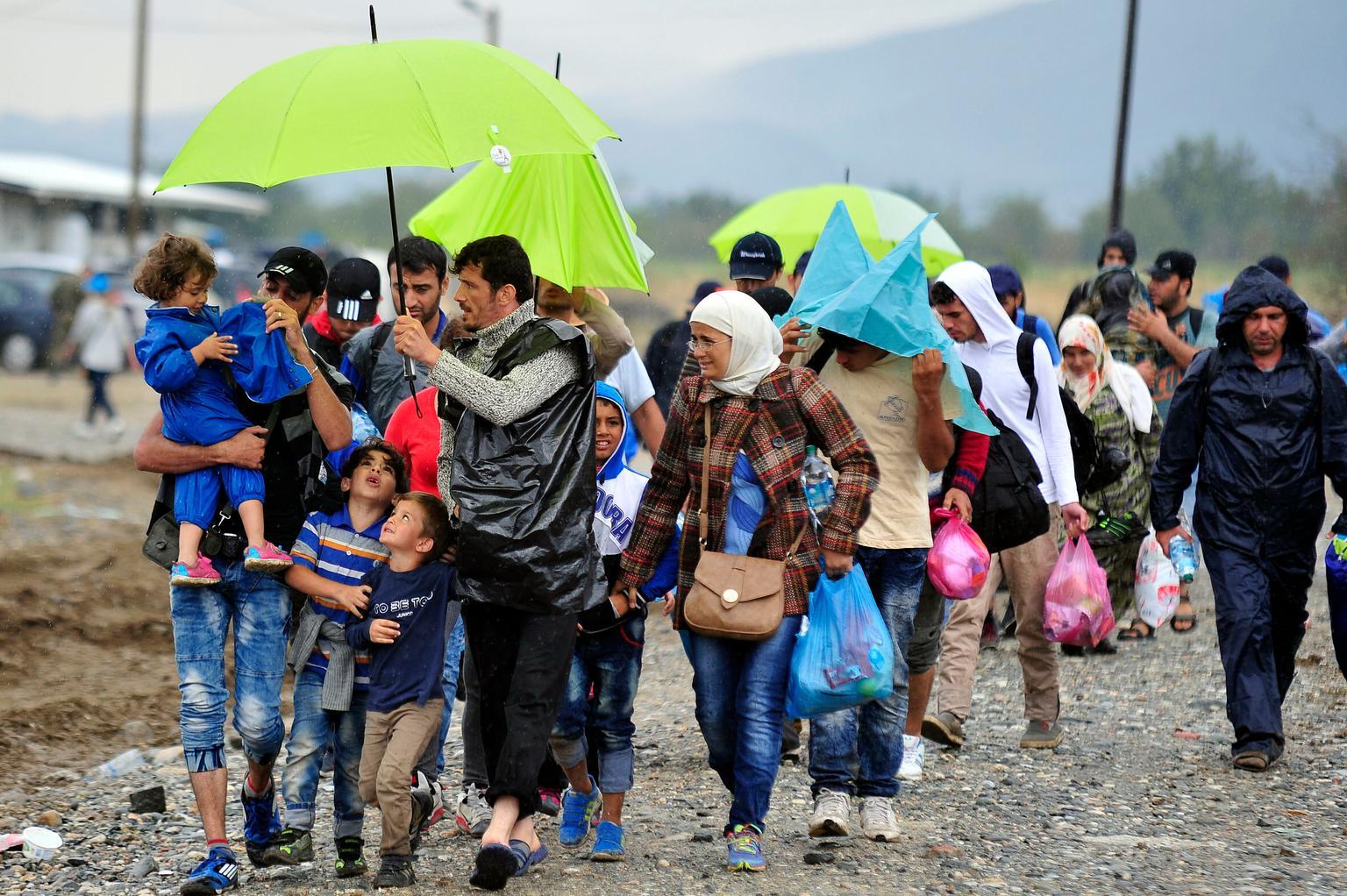 Las condiciones de vida de los refugiados están afectando a su salud física y mental.