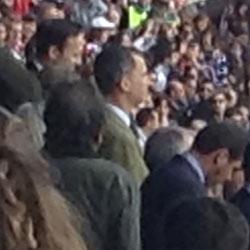 Rey Felipe VI, en la final de la Copa del Rey de Rugby