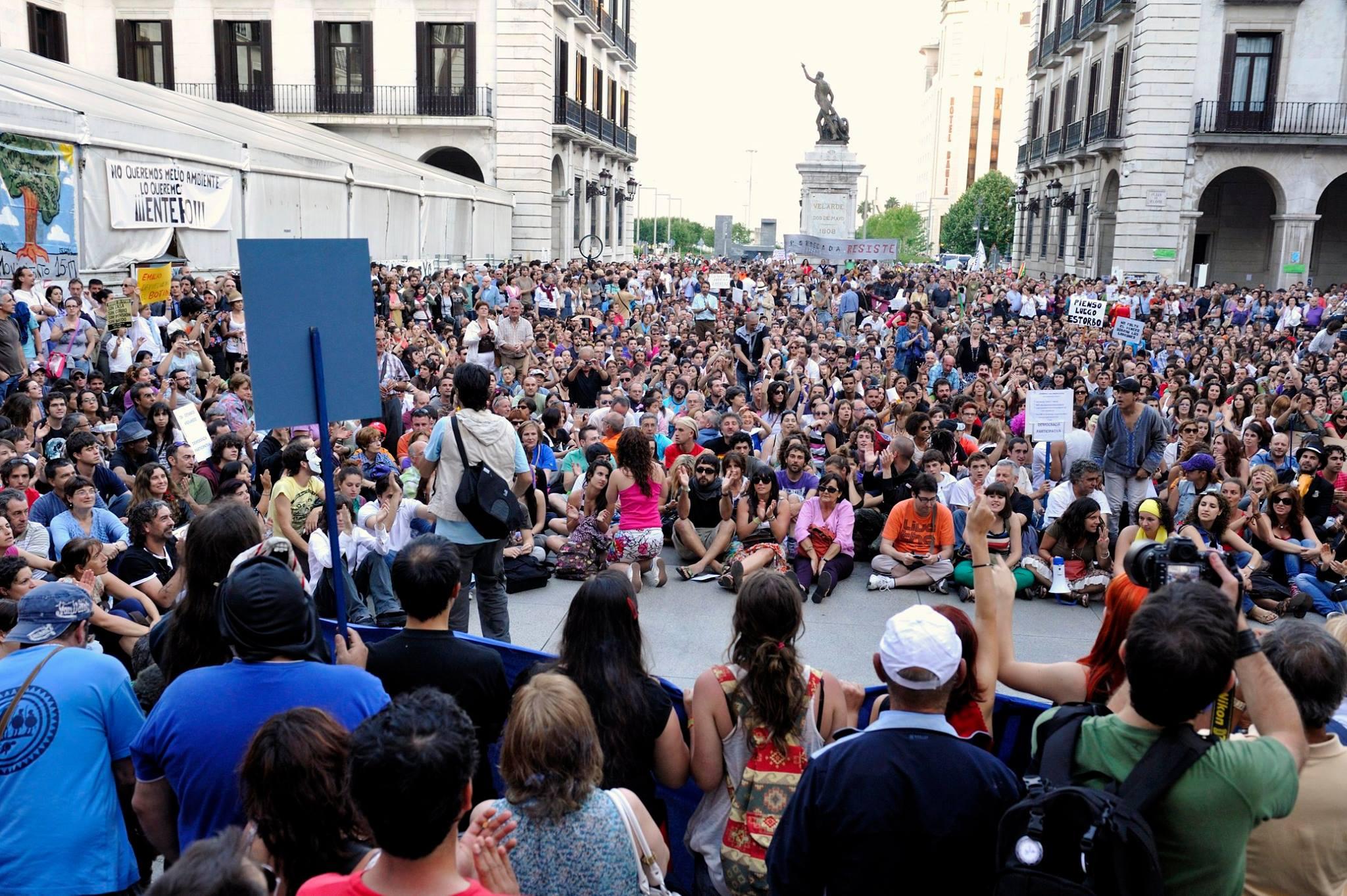 15M en Santander (Foto: José Segarra)