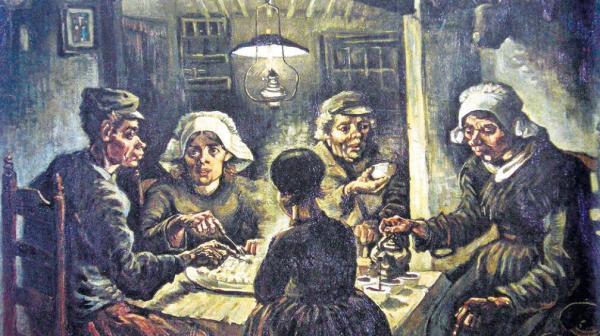 """Pinceladas de dignidad. Cuadro """"Comedores de Patatas"""" de Vicent van Gogh"""