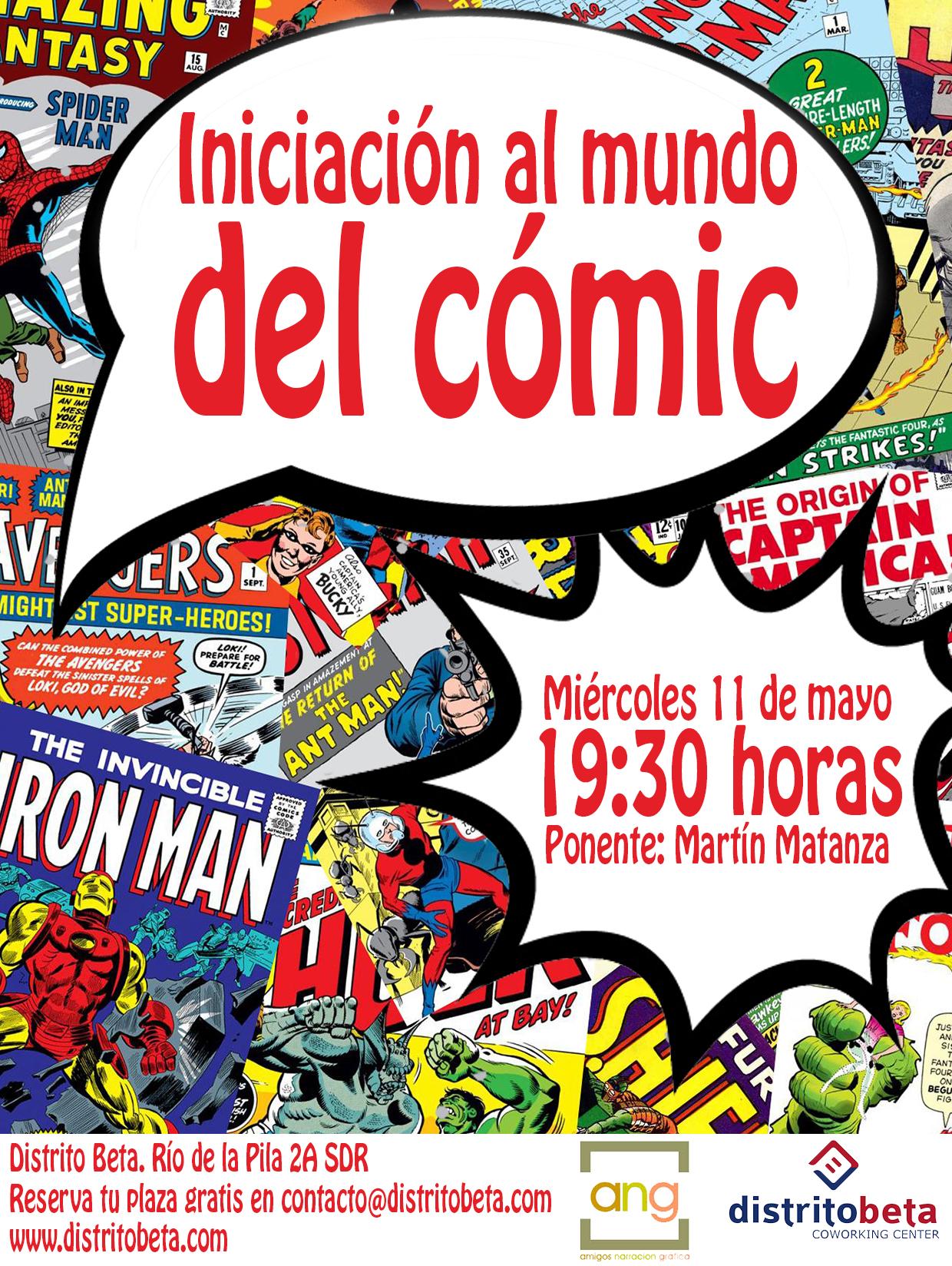 Distrito Beta nos introduce en el mundo del comic.