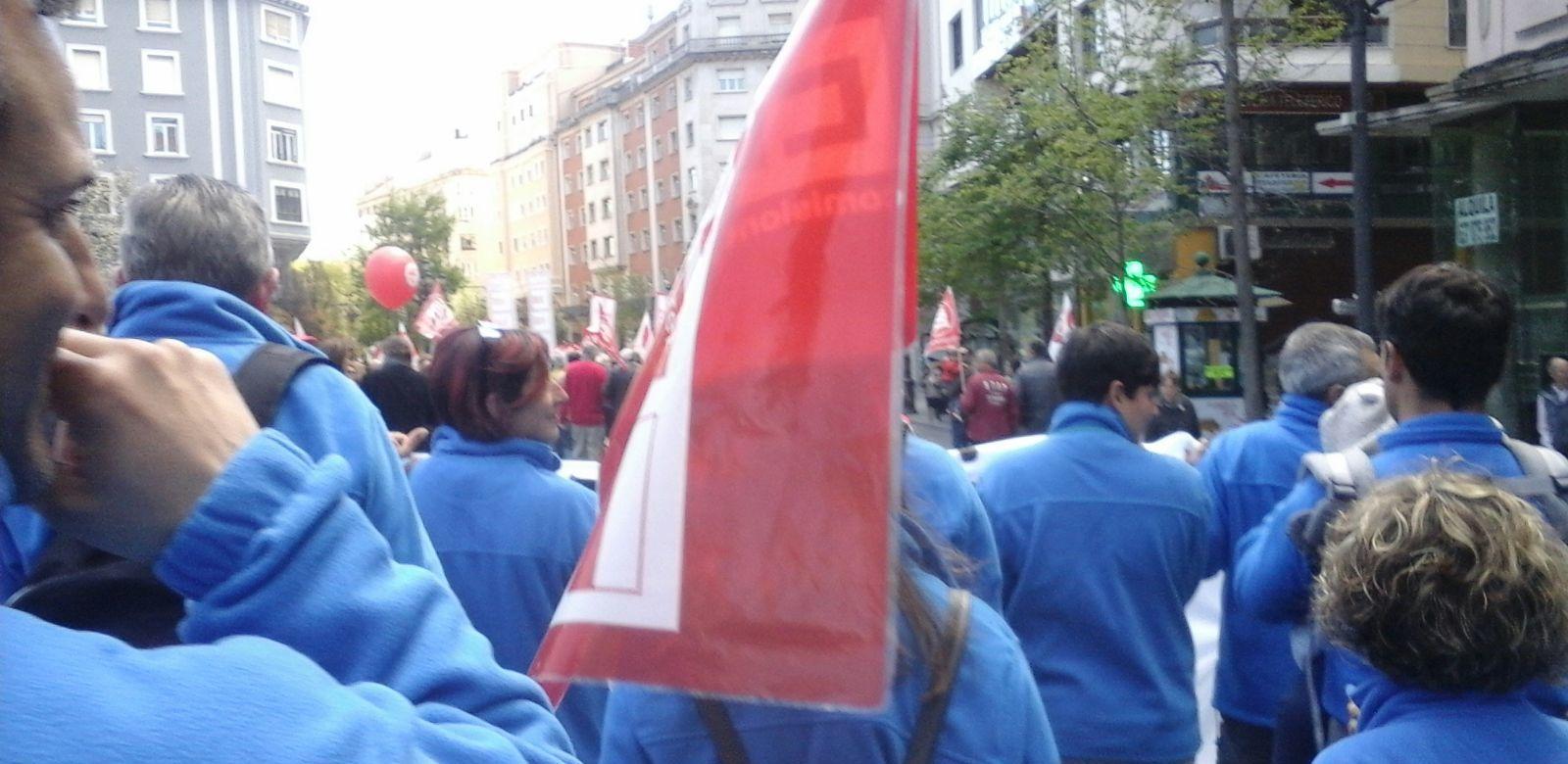 Primero de mayo por las calles de Santander