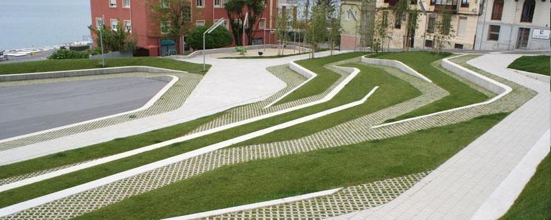 La Plaza de San Martín, ya sin la bolera