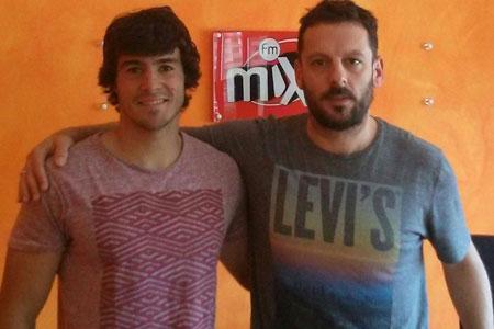 Izko Armental, medio melé de Bathco Independiente, visitó el Estudio Bonavox para participar en el programa Villanos y Caballeros