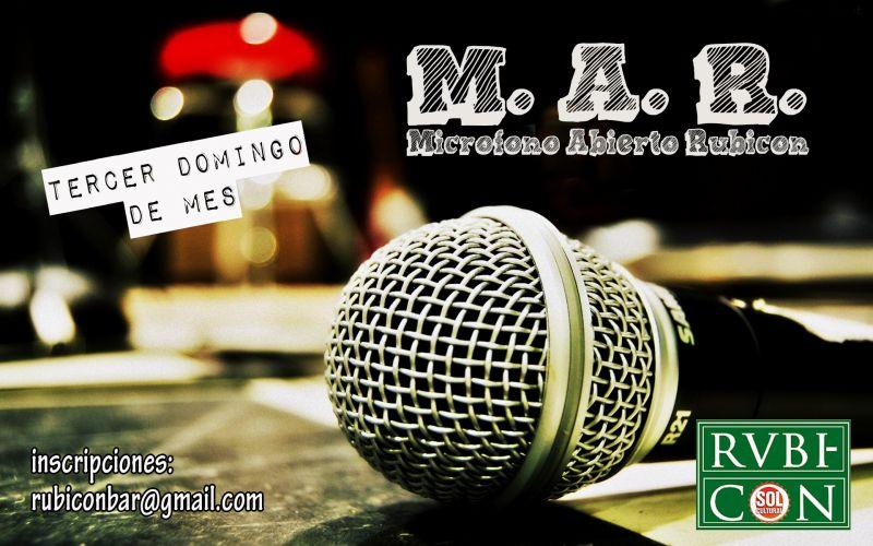 El domingo habrá sesión de micro abierto en el bar Rvbicón.