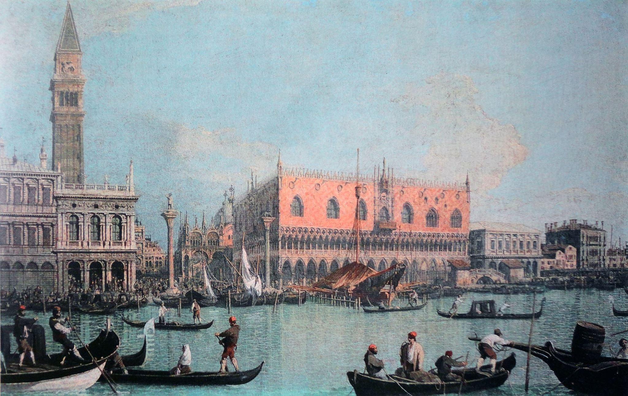 Nada como la luz de Venecia para abrir el apetito.