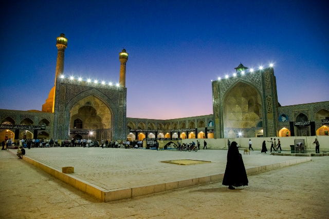 Fotografía de Irán tomada por Juan José Cacho que aparecerá en el libro 'Irán, lugar de vacaciones'.