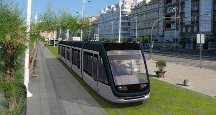 Proyecto de Metro-Tus, una de las próximas infraestructuras por las que apuesta el Ayuntamiento de Santander.