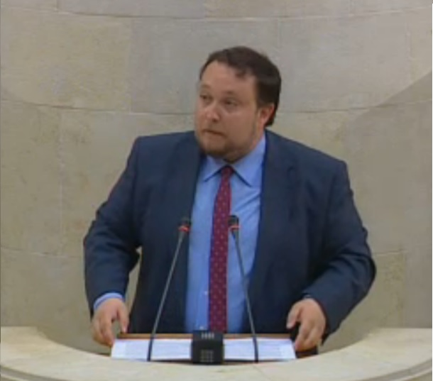Rubén Gómez, diputado de Ciudadanos.