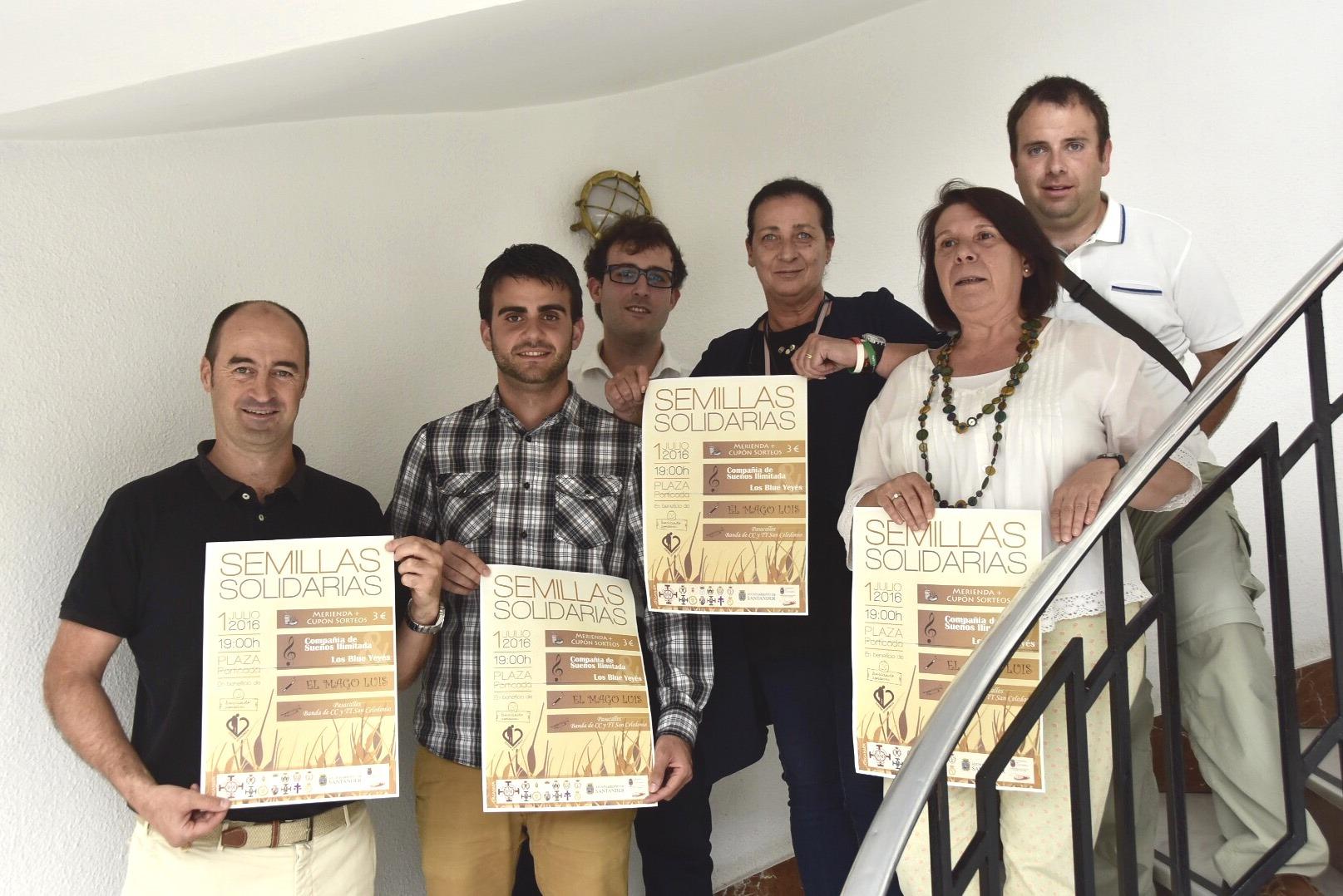 Presentación del evento Semillas Solidarias.