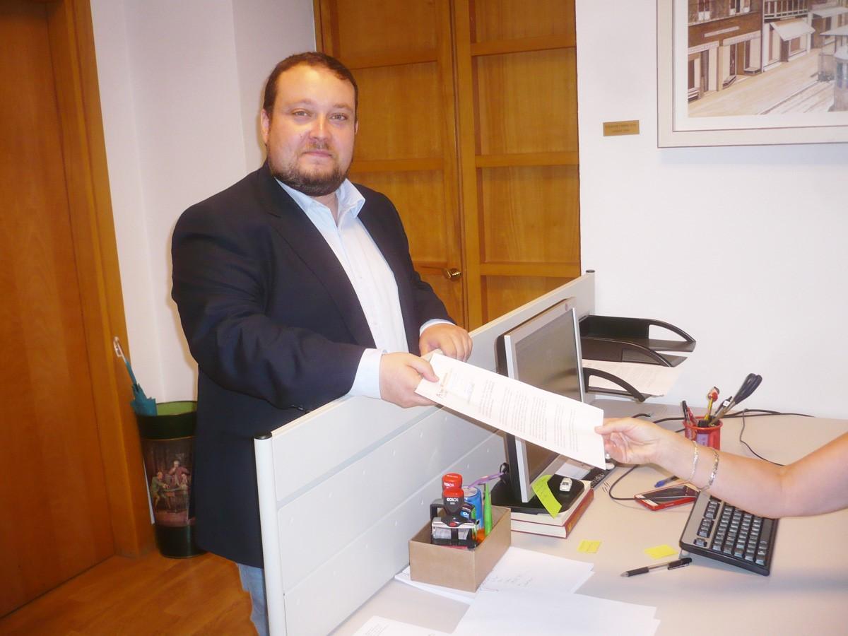 Rubén Gómez (Ciudadanos) registra la moción sobre SODERCAN que se debatirá el próximo 28 de junio.