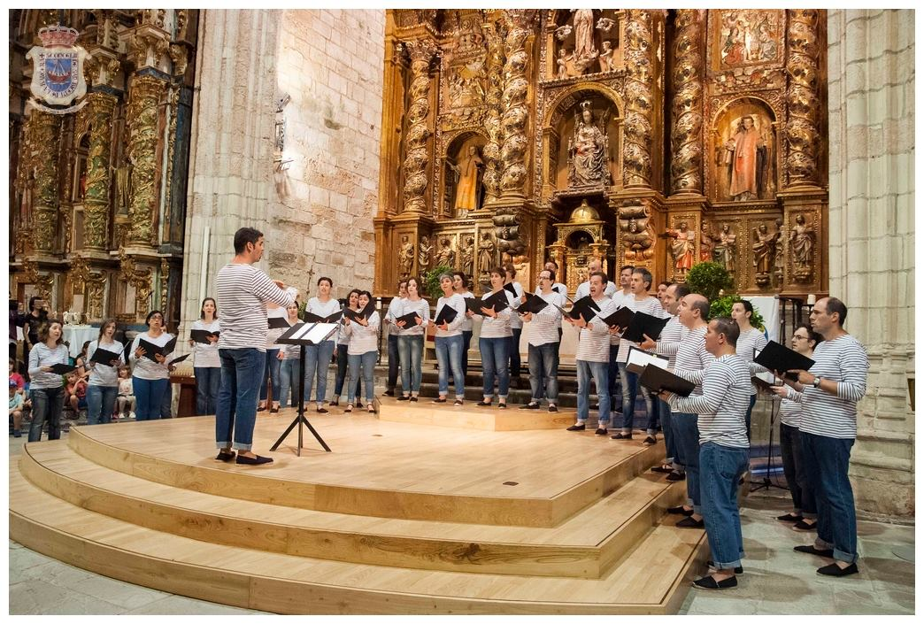 Acto de clausura del Certamen de la Canción Marinera.
