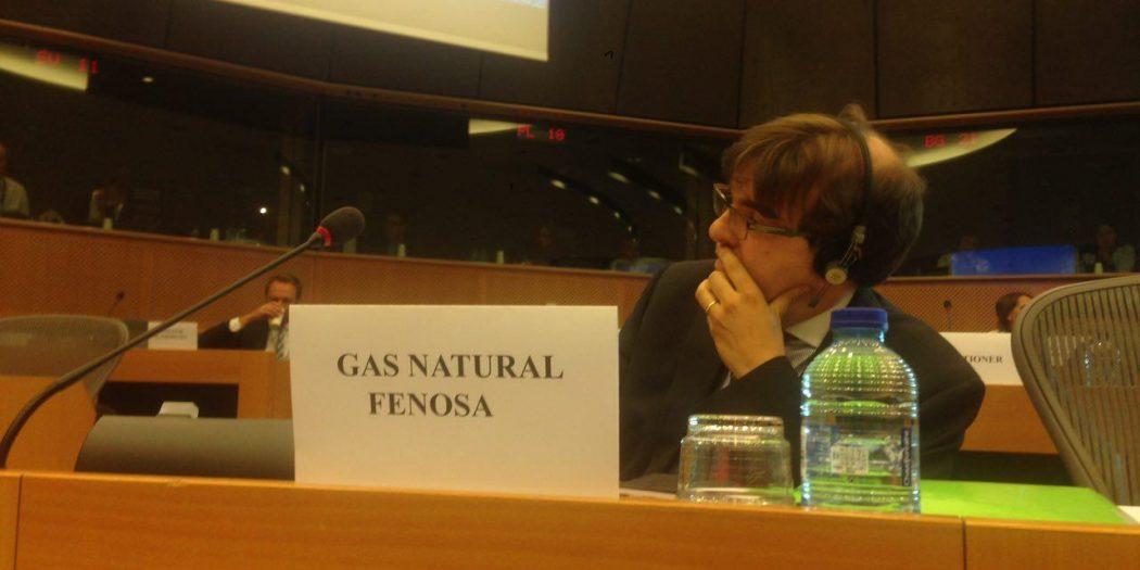 La intervención de un representante de Gas Natural no ha sentado bien. Foto: IU