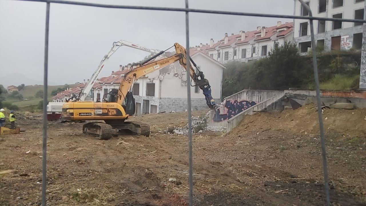 El derribo de la urbanización del Alto del Cuco costará 3,7 millones de euros
