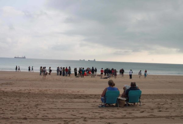 Alegoría de lo que El Mar nos trae (Fotografía: Elena Gómez)