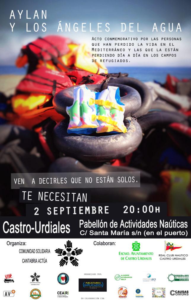 Póster del evento que se celebrará en Castro Urdiales.