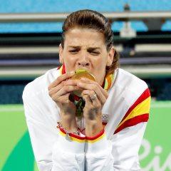 Ruth Beitia con el oro olímpico