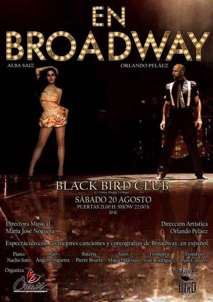 La Sala Black Bird se viste de Boradway.