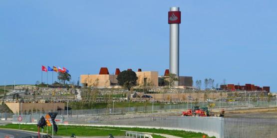 El bunker del Santander
