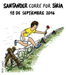 Santander, ¡corre por Siria!