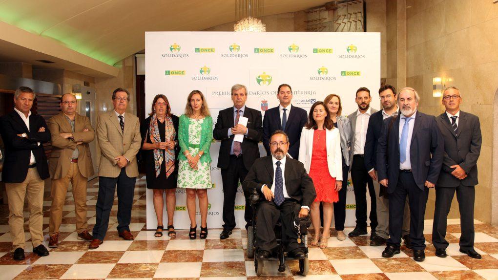 Galardonas Premios Solidarios Once Cantabria 2016