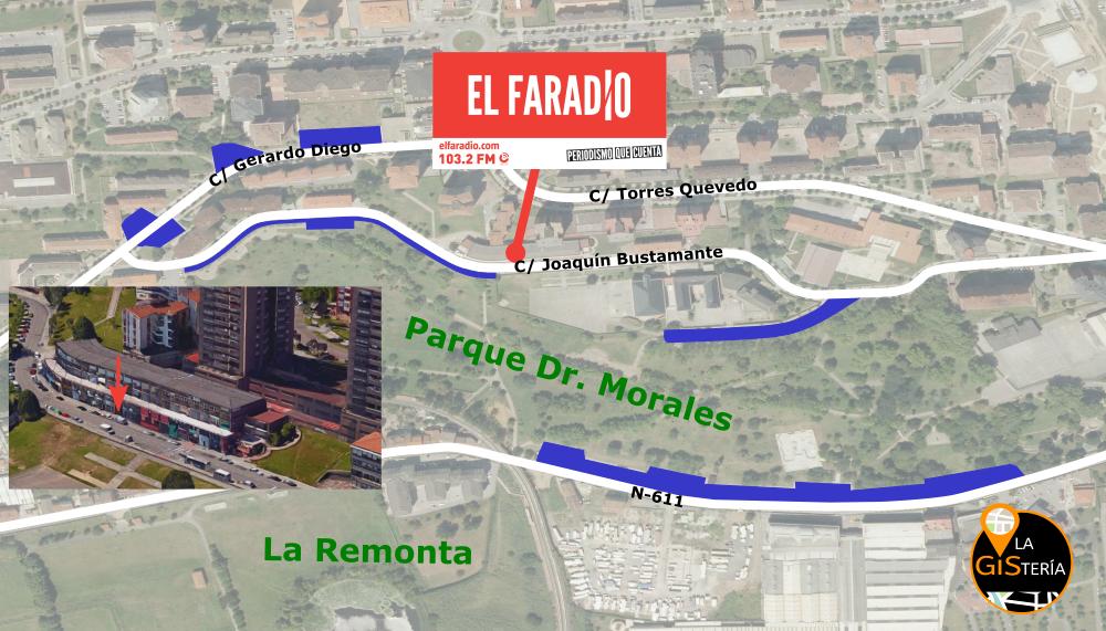 Mapa elaborado por La Gistería
