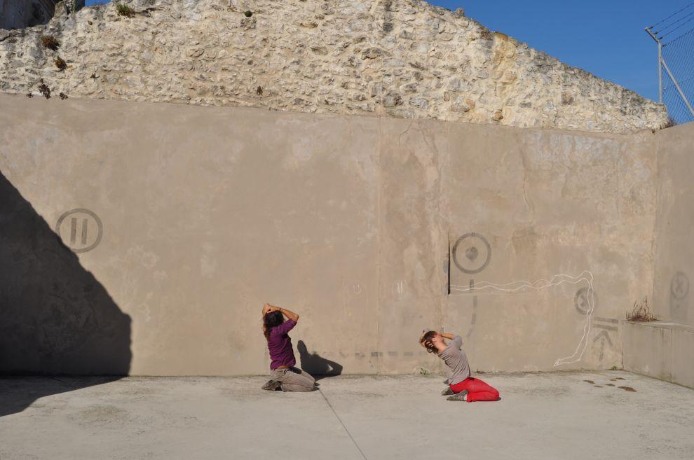 Demostración de algunas de las danzas que se verán estos días en diversos espacios de Santander.