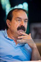El secretario general de la CGT francesa Philippe Martínez